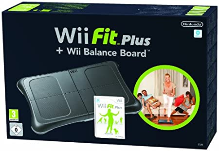 Wii Fit Plus and Balance Board Bundle - Black