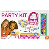 Paint Your Own Porcelain Party Kit Game