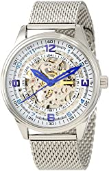 Akribos XXIV Men's AKR446SS Bravura Saturnos Elite Stainless Steel Automatic Watch