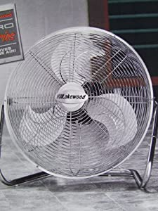 """Lakewood Pro Series Industrial 21"""" Fan with Thermostat"""