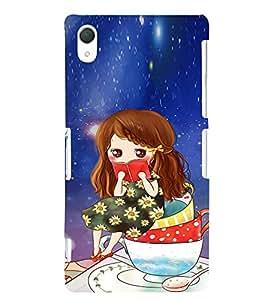 EPICCASE I Love Books Mobile Back Case Cover For Sony Xperia Z2 (Designer Case)