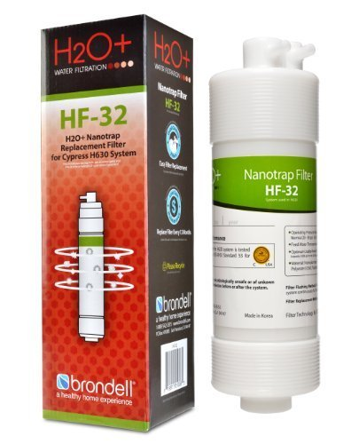 Brondell H2O+ Cypress Nanotrap Water Filter (HF-32) (Brondell Countertop Water Filter compare prices)