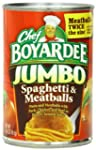 Chef Boyardee Jumbo Spaghetti and Mea...