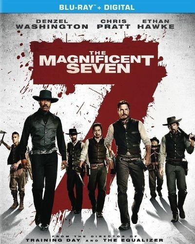 Blu-ray : The Magnificent Seven (Ultraviolet Digital Copy, , Dubbed, Widescreen, Dolby)