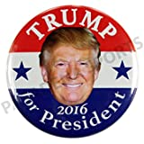 """2016 DONALD TRUMP for PRESIDENT CAMPAIGN BUTTONS, 2.25"""""""