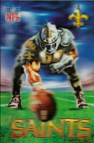 New Orleans Saints Mascot X 3D Xtreme NFL Power Card at Amazon.com