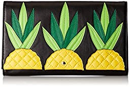 kate spade new york Wing It Tally Clutch, Pineapple, One Size