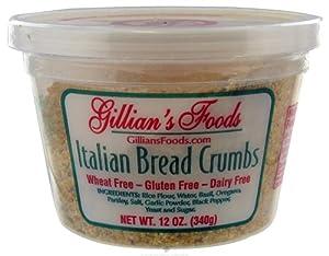 Gillian's Foods - Gluten Free Italian Bread Crumbs - 12 oz.