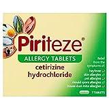 12 X Piriteze Allergy Tablets 7's 7'S 12 PACK BUNDLE