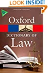A Dictionary of Law (Oxford Paperback...