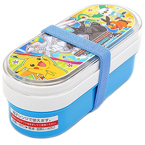 Pokemon Xy School Lunch Box Bento Case with Chopsticks Spoon Fork From Japan