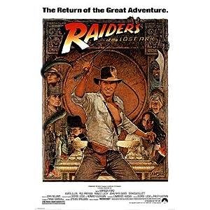 Vendor poster title indiana jones raiders of the lost ark movie