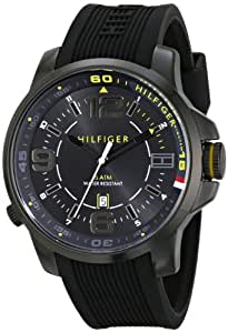 Tommy Hilfiger Men's 1791008 Ion-Plated Stainless Steel Sport Watch