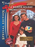 img - for A Weaver Holiday Homecoming (Silhouette Special Edition) book / textbook / text book