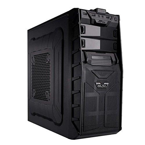 NewmediaPc-gaming- Intel core i5-6400 4 x2.70GHz - SSD 250GB Samsung - Windows 10 - SAPPHIRE ATI RX 460 2GB DDR5 - 8 GB DDR4 2133 mhz - pc da gaming pc fisso desktop pc assemblato completo pc completo pc completo gaming