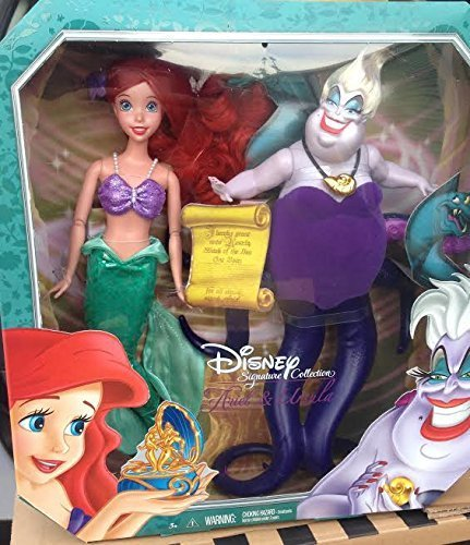 Disney Signature Collection ARIEL & URSULA (2 pack) Doll Set - 1