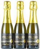 レ・ドメーヌ・ピエール・シャヴァン ピエール・ゼロ ブラン・ド・ブラン 200ml×3本 ノンアルコール・ワインテイスト飲料
