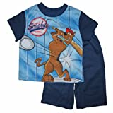 Scooby-Doo Baseball Boys Short Pajama Set