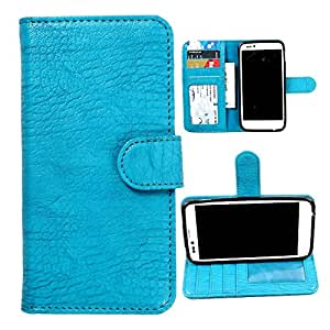 For Sony Xperia J - DooDa Quality PU Leather Flip Wallet Case Cover With Magnetic Closure, Card & Cash Pockets