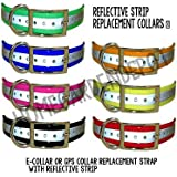 """Sportdog Collar Straps For Dogs 3/4"""" (Blue Reflective, 3/4"""")"""