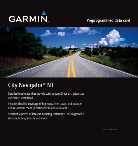 Garmin City Navigator 2010 Italy/Greece microSD Card