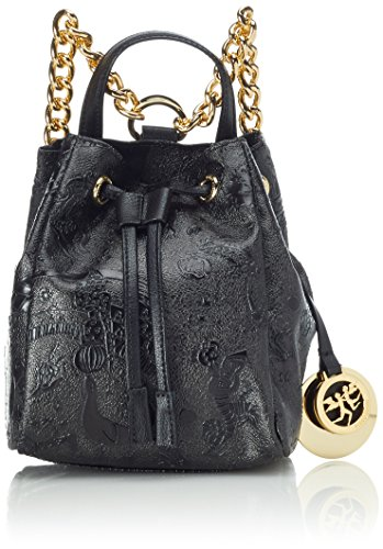 Piero Guidi Magic Circus Golden Age Borsa a Zainetto, 20 cm, Nero