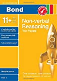 Andrew Baines Bond 11+ Test Papers Non-Verbal Reasoning Multiple Choice Pack 1 (Bond Assessment Papers)