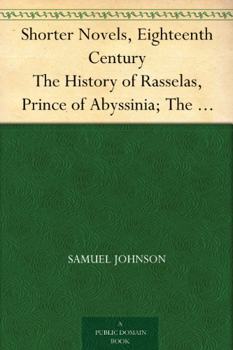 a literary analysis of rasselas prince of abyssninia A literary analysis of rasselas prince of abyssninia and research papers seminars 01 an analysis of the structure of william shakespeares hamlet.