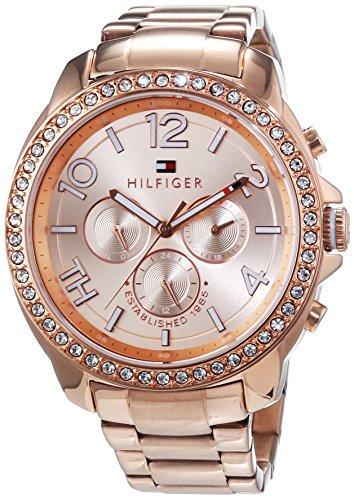 Tommy Hilfiger Watches Damen-Armbanduhr SERENA Analog Quarz Edelstahl beschichtet 1781466 thumbnail