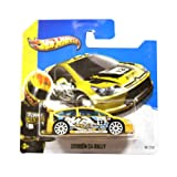 Hotwheels Diecast Car Hot Wheels '13 Citroen C4 Rally #91 (HW Stunt)