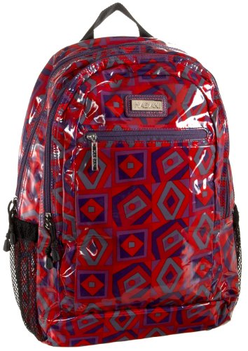 Hadaki Cool Backpack,Tic Tac Toe Berry,one size