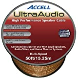 Accell B067B-050H 12-Gauge UltraAudio Speaker Cable (50 Feet/15 Meters)