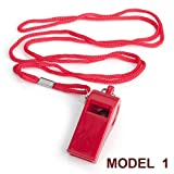 GOGO Whistle With Lanyard, Sport Coach Whistle, Safety Whistle, Emergency Survival Whistle - Model 1