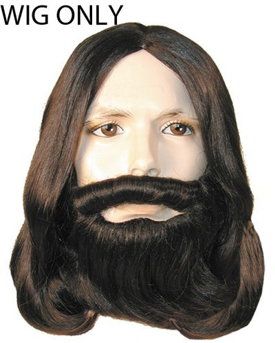 Better Version Biblical Jesus Apostle Wig - Dk Brown