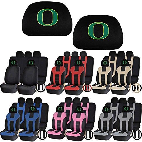 UAA Universal Seat Covers Set NCAA Teams Head Rest University Of Oregon Ducks (Oregon Ducks Car Seat Covers compare prices)