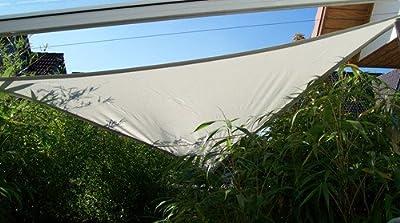 YACCU® SONNENSEGEL SONNENSCHUTZ 6 x 6 x 6 m Dreieck LICHT-GRAU von TradeStore24 bei Gartenmöbel von Du und Dein Garten
