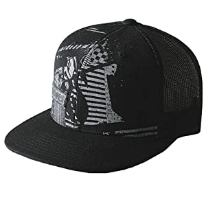 Answer Racing Rancid Men's Adjustable Sports Wear Hat - Black / One Size Fits Most