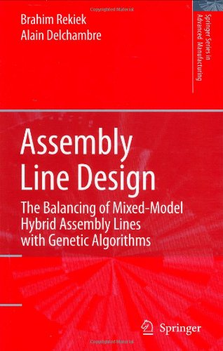 Assembly Line Design: The Balancing of Mixed-Model Hybrid Assembly Lines with Genetic Algorithms
