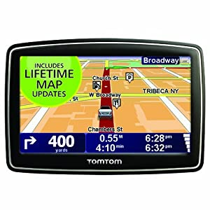 See TomTom XXL 540M 5-Inch Widescreen Portable GPS Navigator (Lifetime Maps Edition) Full size and View details