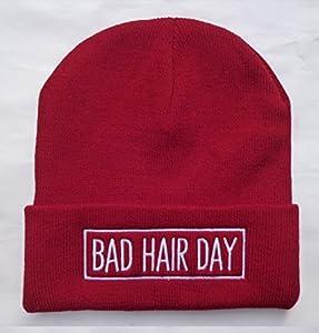 Bad Hair Day Unisex fashion hip-hop beanies, 4