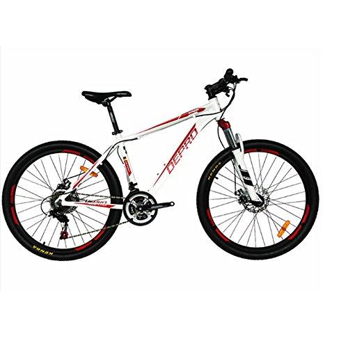 ZEARO Mountainbike Aluminiumlegierung 21 Gang-doppelscheibenbremsen 26 zoll Frequenzumrichter Fahrrad Männer Frauen Studenten Radfahren fahrrad Aluminiumlegierung Fahrradrahmen