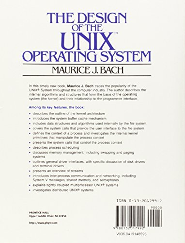 The Design of the UNIX Operating