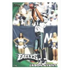 2010 Topps NFL Football Card # 55 Jason Avant - Philadelphia Eagles - NFL Trading...