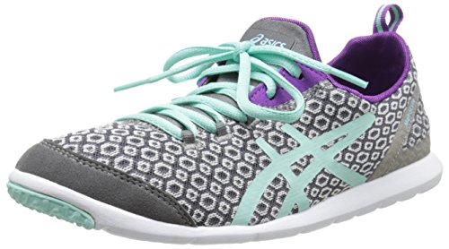 ASICS Women's Metrolyte Gem Walking Shoes,Titanium/Mint/Orchid,8.5 M US