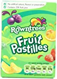 Rowntree's Fruit Pastilles Carton, 4.4-Ounce (Pack of 6)