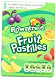 Rowntrees Fruit Pastilles Carton, 4.4-Ounce (Pack of 6)