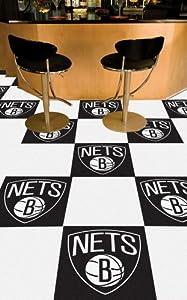 NBA - New Jersey Nets Carpet Tiles by Fanmats