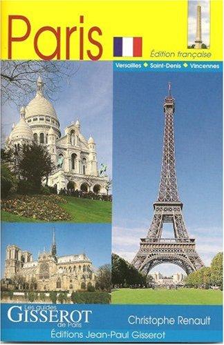Guide touristique de paris paris de christophe renault for Lieux touristiques paris