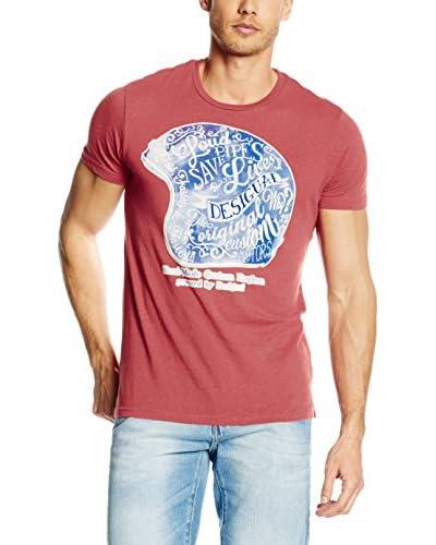 Desigual T-Shirt Ignacio rot