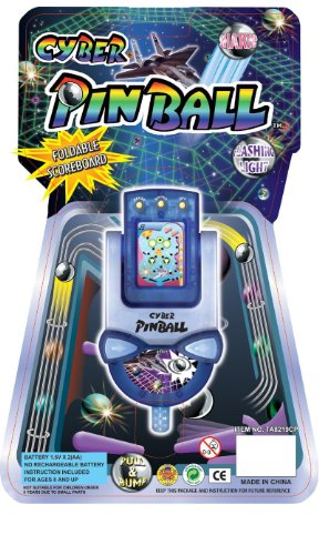 10 PC Cyber Pinball Electronic Handheld Game Wholesale